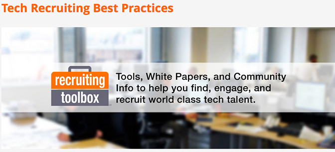 Free Tech Recruiting Best Practices, Information, and Resources
